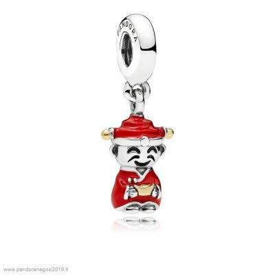 Pandora Vendita Fortune And Luck Hanging Charm