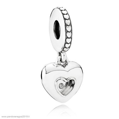 Pandora Vendita Contemporaneo Charms 2017 Club Charm Diamante